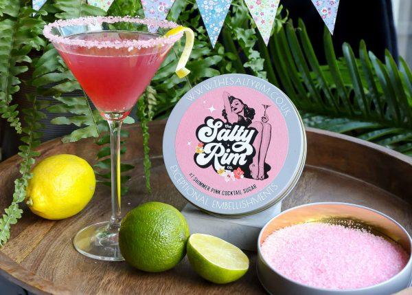 Pink Shimmer Cocktail Sugar