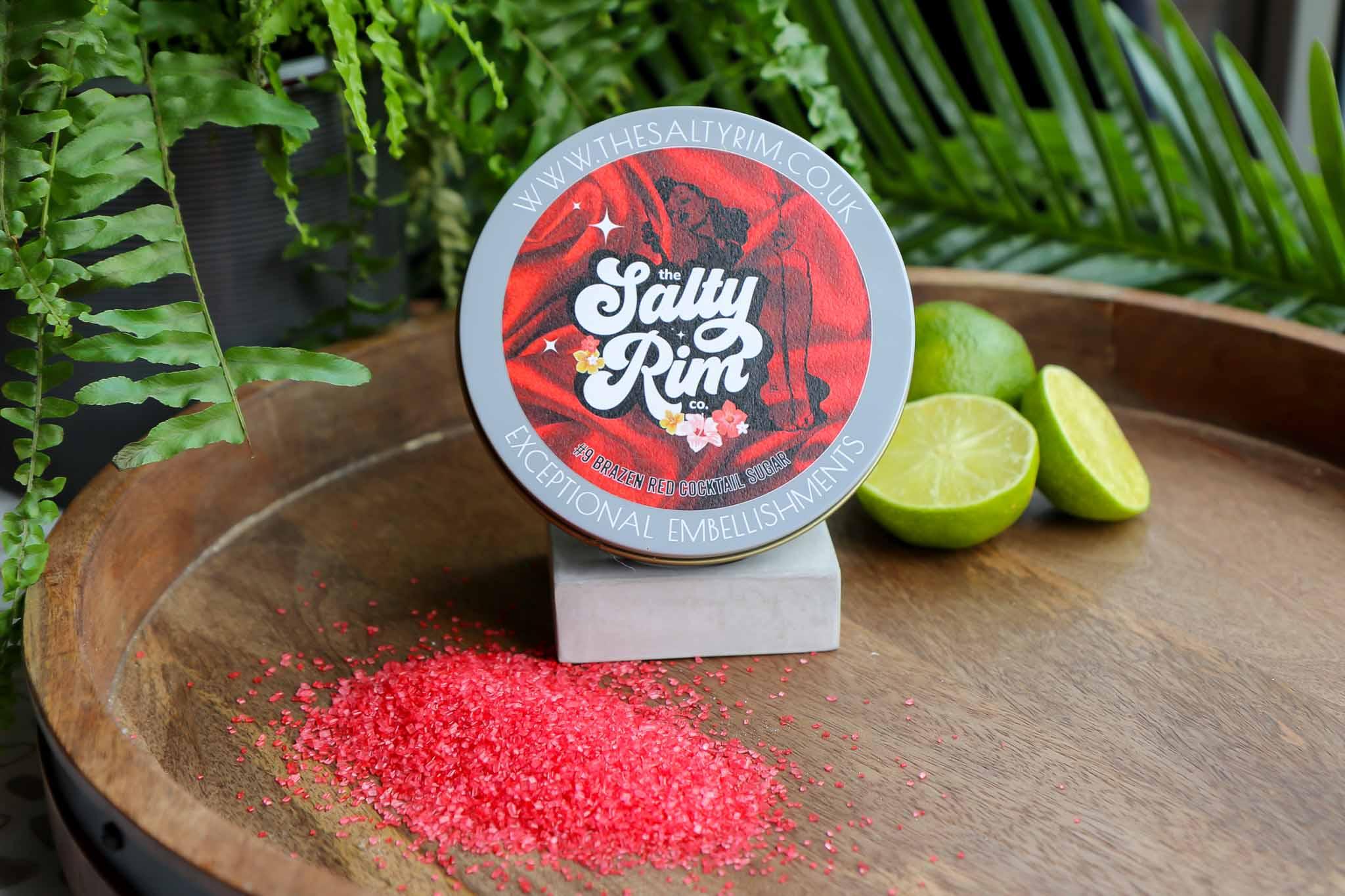 Brazen Red Cocktail Salt